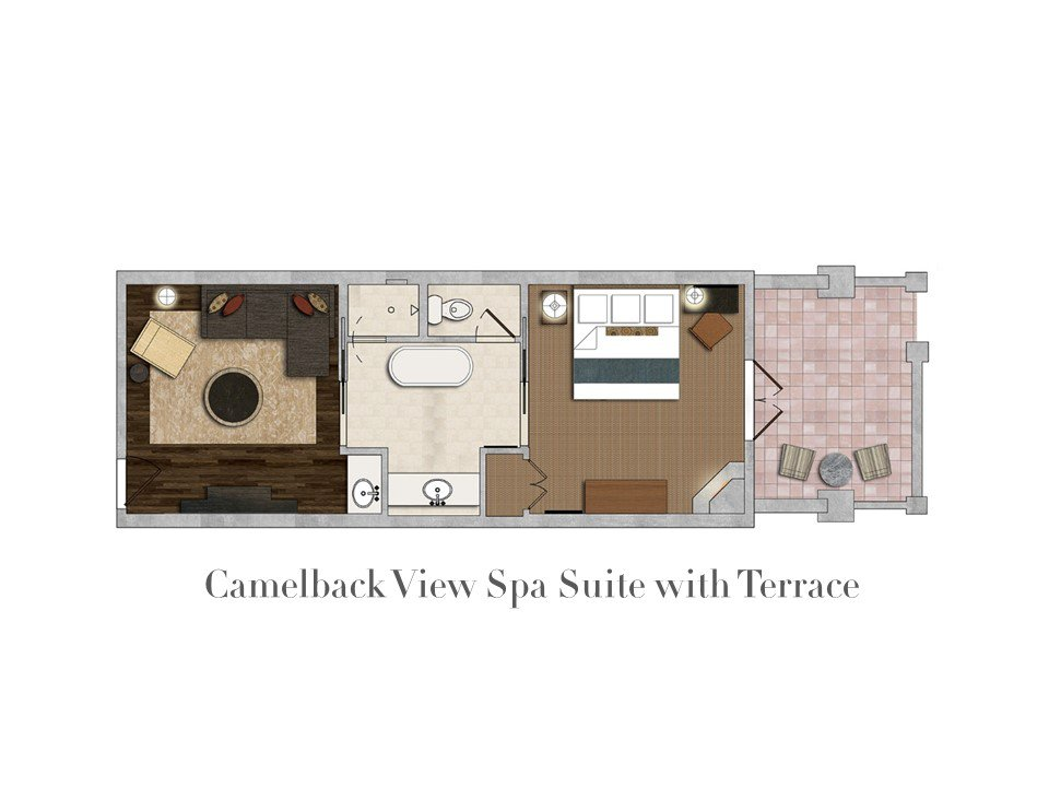 Camelback View Spa Suite with Terrace